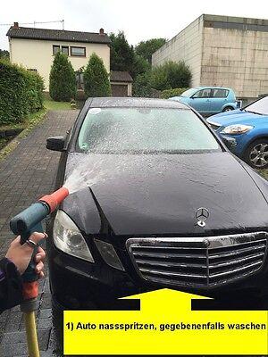 SEKUNDEN AUTO Nano Lotus Effekt Sprühwachs Wachs Versiegelung Spray Autowachs