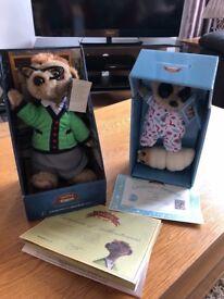 Authentic meerkat toys
