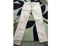 Zara Man Light Pink Chinos 30L