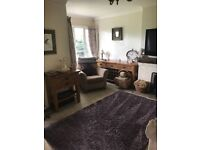 solid oak sideboard long low tv unit nest tables and side unit all solid oak and expensive