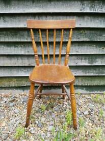 5 Small country chairs