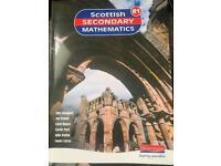Scottish secondary mathematics R1