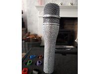 Customised wireless microphone