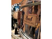 Pearl Hammered Steel Snare *Limited Edition*