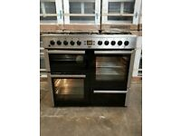 Beko A+++ Class 100cm 7 Burners Gas Cooker in Stainless Steel (BRING YOUR OLD ONE AND GET NEW-25%)
