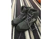 Walking boots - ladies size 8 REDUCED