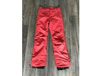 Ladies 5k PROTEST snowboarding trousers size 12
