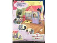 Dream Town Cherry Blossom Stores play House tent