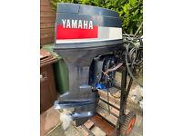Outboard Motor 60hp, Yamaha, 2-stroke, Power Trim & Electric Start for sale  Plymouth, Devon