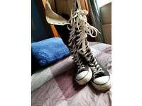 Converse size 8 boots