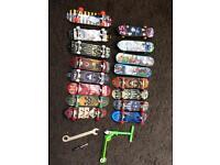 Tech deck skateboards / scooter / toys