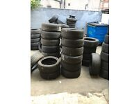 Part worn tyres used tyres ALL SIZES