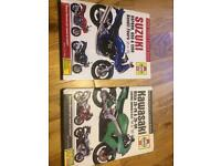 Haynes manuals Kawasaki ZX9R & Suzuki Bandit 1200
