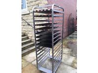 Bakery trolley catering equipment