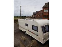 2011 Bailey Unicorn Valencia - 4 Berth Fixed Bed Caravan, CRiS Registered, Solar