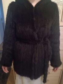 Elegant Knitted real mink coat!!!