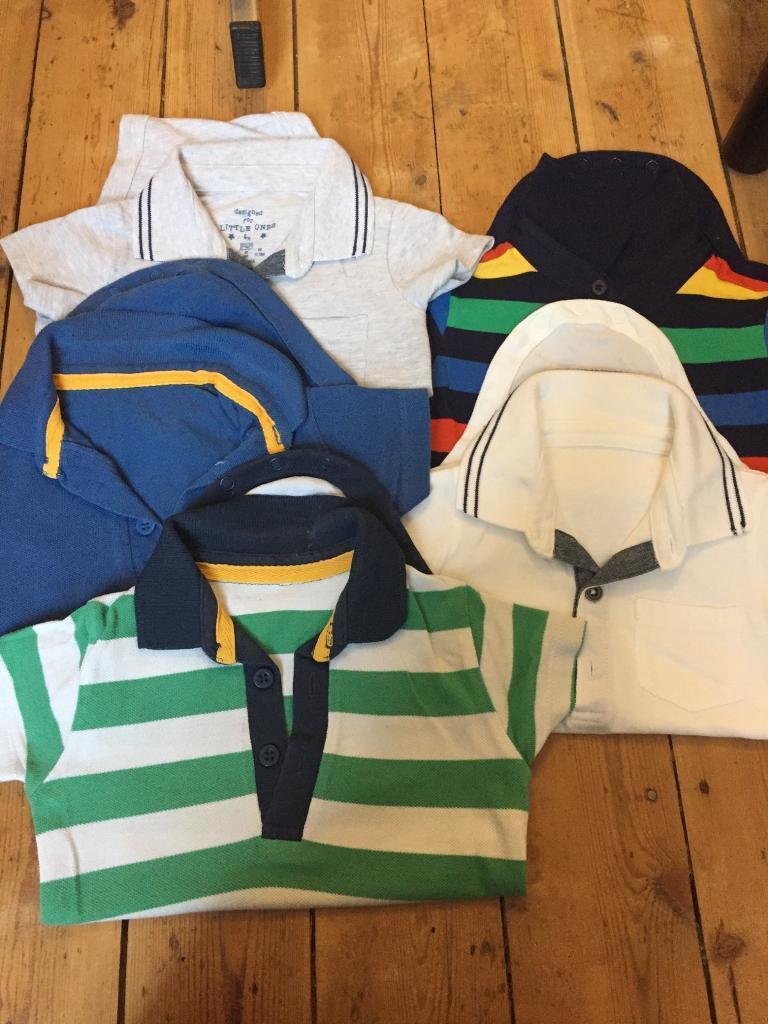 7a252f1f6 Baby boys bundle Polo Top bodysuits 12-18 months