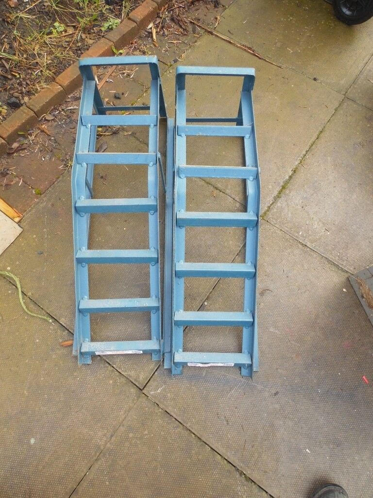 Car Ramps - excellent condition, used only twice, good as new - collect only