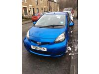 2010 Toyota Aygo blue 3 dr