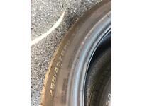 255/45/20 Goodridge tyre x 2