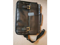 Kenneth Cole Leather Office Bag - Brand New
