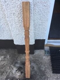 16 brand new mahogany bannister spindles