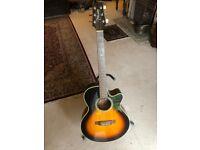 Takamine EG260C electo acoustic guitar