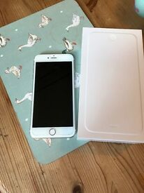 IPhone 6 Plus in gold 16gb unlocked to any network