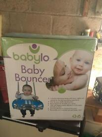 Baby car bouncer
