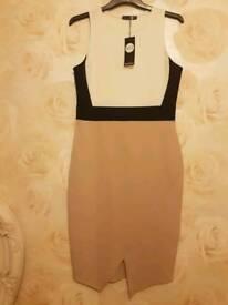 New Boohoo midi dress size 14