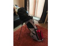 Nike Golf Set including a Carry Bag, used less than 10 rounds of golf from new.