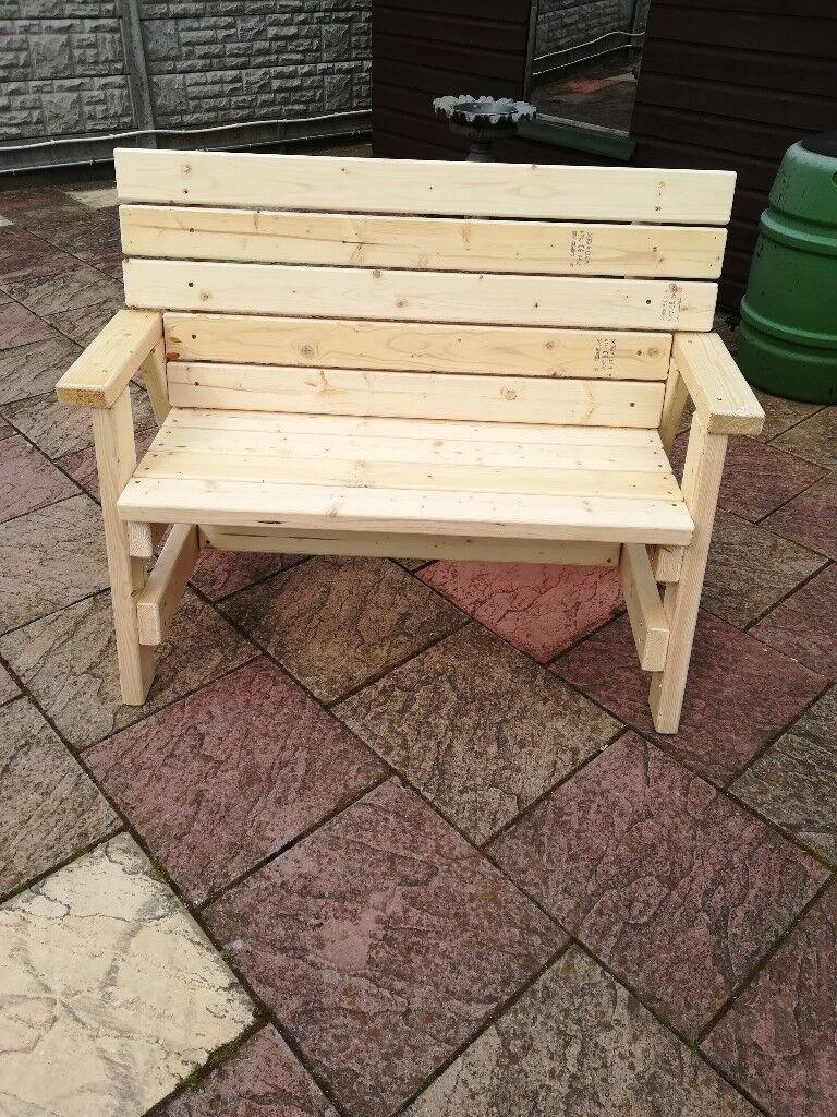 NEW Handmade Garden Bench.