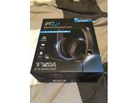 Turtle Beach P12 Gaming Headset for Playstation 4 Console (never used, boxed)
