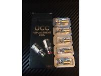 ADVKEN OCC 0.5ohm Clapton Coils x5 Kangertech Vape Coils
