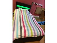 LED MUSIC BED WITH BLUETOOTH AND REMOTE CONTROL