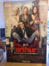Arthur (2011) with Russel Brand Cinema cardboard cut out