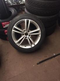 245/45-18 tyre & alloy wheel Vauxhall insignia