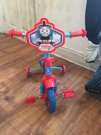 First bike Thomas