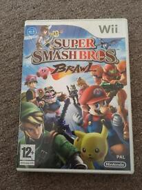 Nintendo wii game - super smash bros brawl