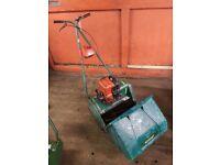 Qualcast Suffolk Punch 17 Inch Petrol Cylinder Lawnmower