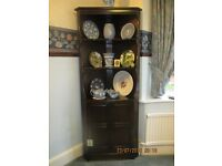 Ercol Corner Display Cabinet