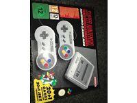 Snes classic Nintendo mini
