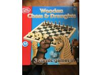 Board game - chess and draughts