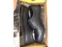 Brand New Dr Marten Black industrial shoes Size 9