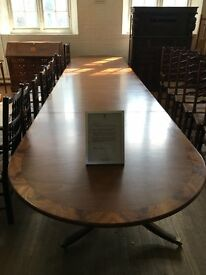 VERY RARE & VERY SPECIAL BOARDROOM/BANQUETING TABLE