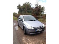 Vauxhall Corsa 1.2 elegance FOR SALE - spotless condition - 1 owner from new