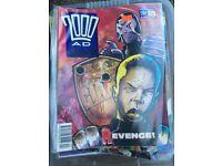 Judge Dredd 2000AD Comics