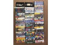VHS titles - job lot