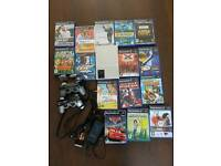 Playstation 2 slim silver with games