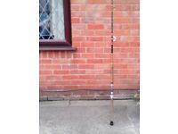SEA FISHING ROD MAYBE A CONOFLEX 50 LBS GLASS WITH TIP ROLLER